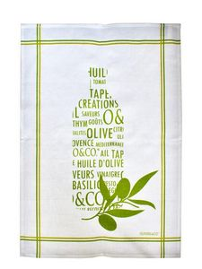 OLIVIERS & CO -  - Tea Towel