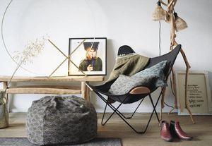 Maison De Vacances - chenille samarkand soft washed - Floor Cushion