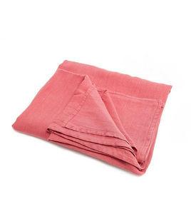 Couleur Chanvre - couleur litchi en chanvre pur - Rectangular Tablecloth