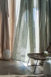 Couleur Chanvre -  - Net Curtain