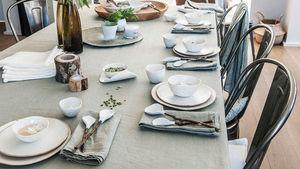 Couleur Chanvre -  - Rectangular Tablecloth