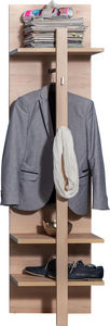 COMFORIUM - porte-manteau coloris hêtre - Cloakroom