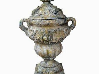 TERRES D'ALBINE - pot à feu - Garden Urn