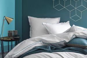 BLANC CERISE - vert lagon - Bed Linen Set