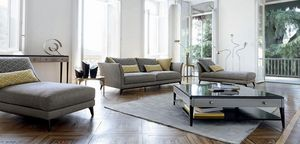 ROCHE BOBOIS - contrepoint - 3 Seater Sofa