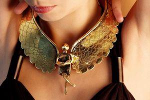 SZENDY GRINHILDA - l ange - Necklace