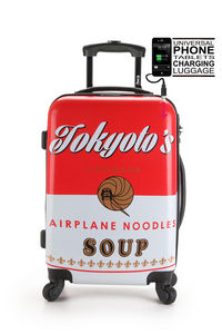 MICE WEEKEND AND TOKYOTO LUGGAGE - tokyoto soup - Suitcase With Wheels