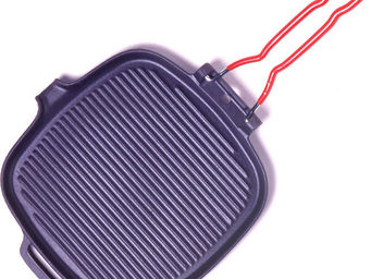 INVICTA - gril carré en fonte - Food Warmer