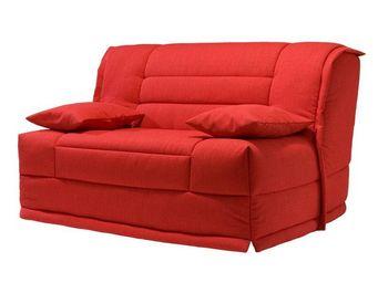 WHITE LABEL - banquette-lit bz matelas hr 140 cm - speed capy - - Reclining Sofa