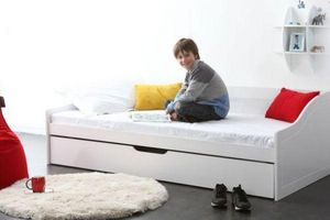Miliboo - theo - Children's Bed With Drawers
