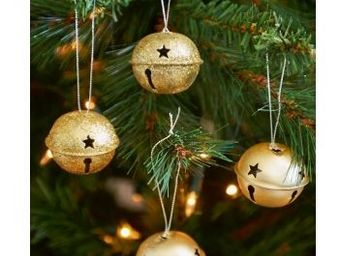Riviera Maison - jingle bells gold - Christmas Bauble