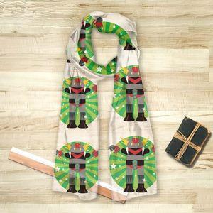 la Magie dans l'Image - foulard héros goldorak - Square Scarf