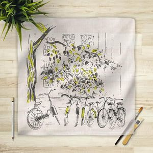 la Magie dans l'Image - foulard vélos - Square Scarf