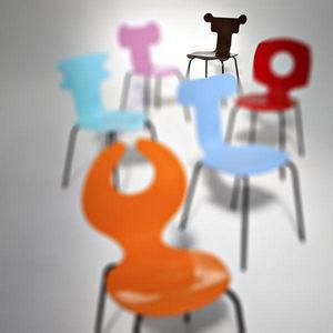 MoodsforSeats - l'intellectuelle - Chair