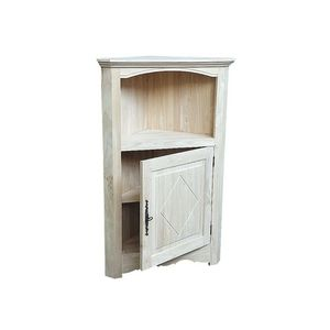 Pier Import -  - Corner Cupboard