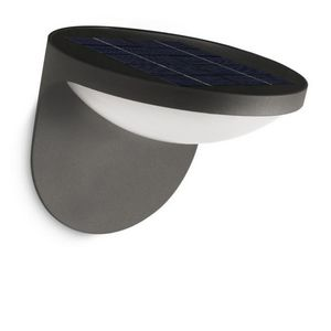 Philips - applique solaire dusk led ip44 h13,6 cm - Outdoor Wall Lamp