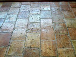 Carrelage  Palatino - terre cuite ancienne                                         - Enamelled Terra Cotta Tile