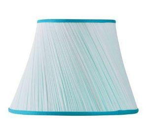 MON ABAT JOUR - plissé biais mousseline-.. - Cone Shaped Lampshade
