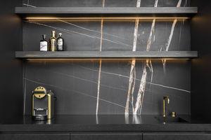 Beltrami - sahara noir marbre - Wall Covering