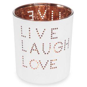 Maisons du monde - live laugh - Candle Jar