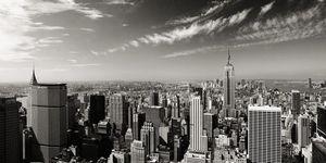 Nouvelles Images - affiche midtown manhattan new york - Poster