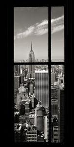 Nouvelles Images - affiche l'empire state building vu du rockefeller - Poster