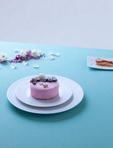 Legle - givre - Dessert Plate