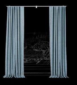 RIDEAUX AND CURTAINS - magagnosc - Hooked Curtain