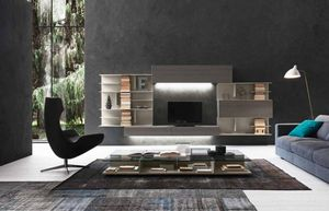 Presotto - i-modulart--- - Open Bookcase