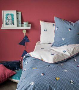 BLANC CERISE - ecusson - Children's Bed Linen Set