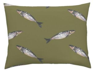 CAMILLE DEPRET - sardines - Upholstery Fabric