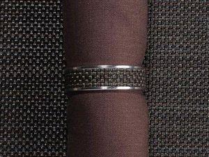 CHILEWICH - mini bw-- - Napkin Ring