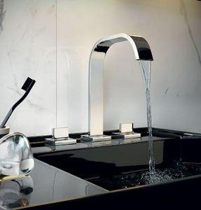 Zucchetti - aguablu - Three Hole Basin Mixer