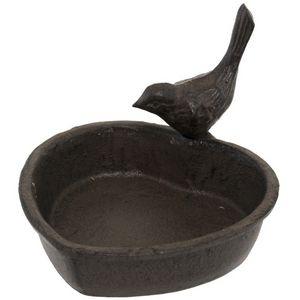 CHEMIN DE CAMPAGNE - bain d'oiseaux oiseau cour à poser abreuvoir mang - Birdbath