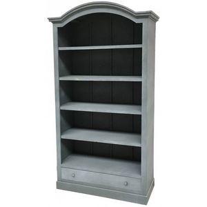 CHEMIN DE CAMPAGNE - meuble style ancienne grande bibliothèque avec tir - Bookcase