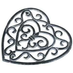 CHEMIN DE CAMPAGNE - dessous de plat repose plat en fonte cour - Plate Coaster