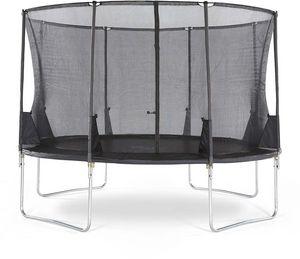 Plum - trampoline avec filet innovant 3g spacezone 366 cm - Trampoline
