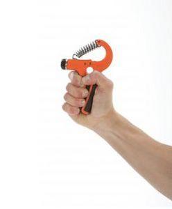Adjustable hand trainer