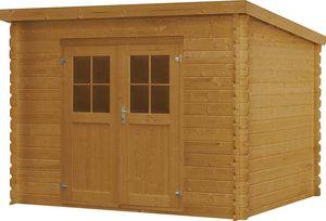 jardindeco - abri de jardin en bois morvan - Wood Garden Shed