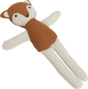 Amadeus - peluche renard roux tricot - Soft Toy