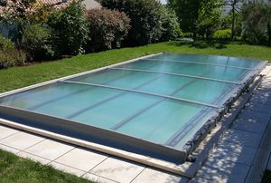 AZENCO GROUPE -  - Flat Swimming Pool Shelter