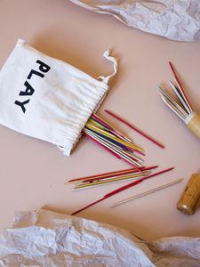 TELLKIDDO - fabric bag small play - Drawstring Bag