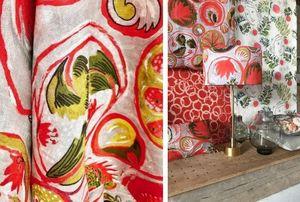 LALIE DESIGN - copacabana - Upholstery Fabric