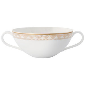 VILLEROY & BOCH -  - Cream Soup Cup And Saucer