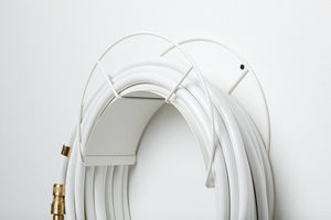 GARDEN GLORY - wall mount white - Hose Tidy
