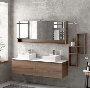 ITAL BAINS DESIGN - space 155 melamine - Bathroom Furniture