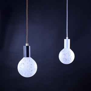 NEXEL EDITION - mosaïk globe de verre - Hanging Lamp