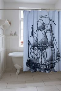 THOMAS PAUL CUSHIONS AND ACCEssORIES -  - Shower Curtain