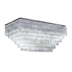 ALAN MIZRAHI LIGHTING - am8080 venini tubular - Chandelier Murano