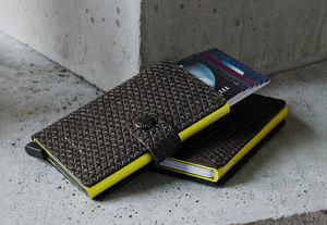 SECRID - miniwallet diamond black - Credit Card Holder
